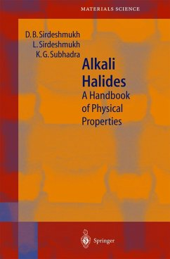 Alkali Halides - Sirdeshmukh, D.B.;Sirdeshmukh, L.;Subhadra, K.G.