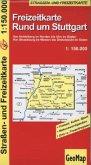 GeoMap Karte Freizeitkarte Rund um Stuttgart