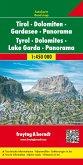 Tirolo, Dolomiti, Lago di Garda, Panoramica / Tyrol, Dolomites, Lac de Garde, Panorama / Tirol, Dolomitas, Lago de Garda