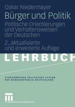 Bürger und Politik - Niedermayer, Oskar