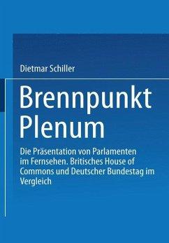 Brennpunkt Plenum - Schiller, Dietmar