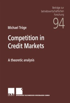 Competition in Credit Markets - Tröge, Michael