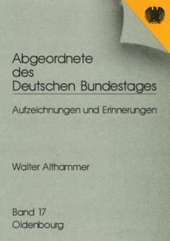 Abgeordnete des Deutschen Bundestages 16. Walter Althammer - Althammer, Walter
