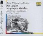 Die Leiden des jungen Werther, 4 Audio-CDs