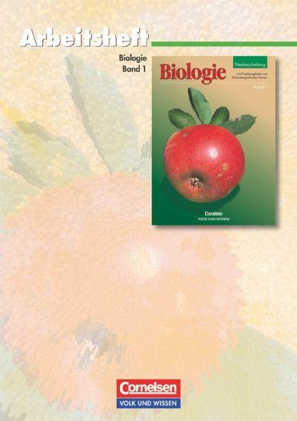 Biologie 1. Arbeitsheft. Neubearbeitung. Mecklenburg-Vorpommern