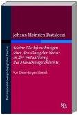 Johann Heinrich Pestalozzi 'Meine Nachforschungen über den Gang der Natur in der Entwicklung des Menschengeschlechts'