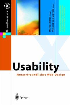 Usability - Beier, Markus; Gizycki, Vittoria von