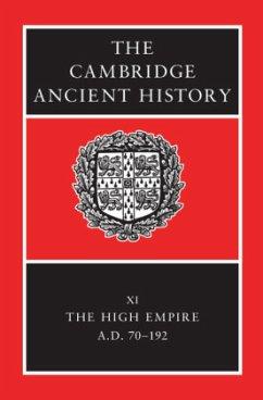 The Cambridge Ancient History - Bowman, K. / Garnsey, Peter / Rathbone, Dominic (eds.)