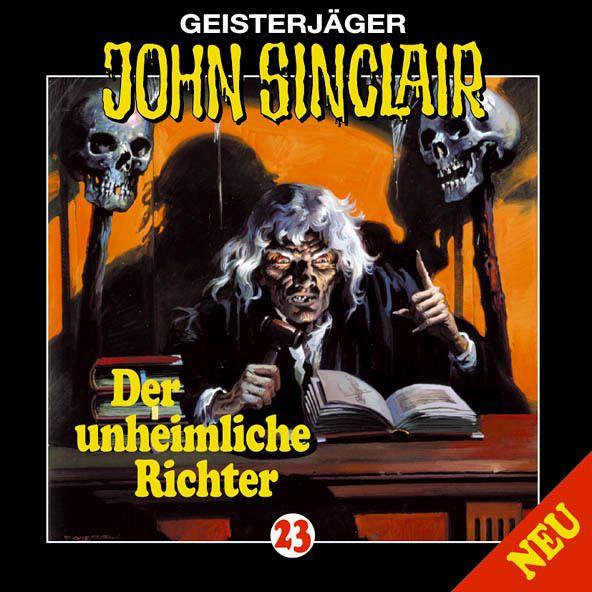 Der unheimliche Richter / Geisterjäger John Sinclair Bd.23 (1 Audio-CD) - Dark, Jason