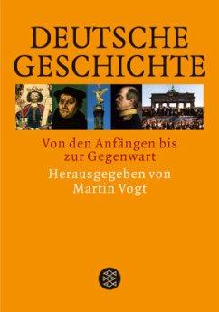 Deutsche Geschichte - Vogt, Martin (Hrsg.)