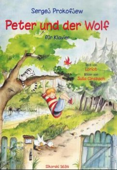 Peter und der Wolf op.67, Klavier