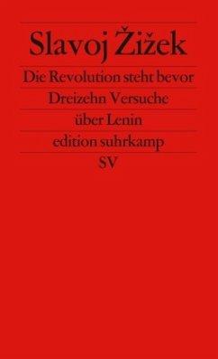 Die Revolution steht bevor - Zizek, Slavoj