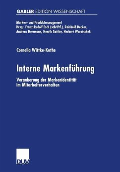 Interne Markenführung - Wittke-Kothe, Cornelia