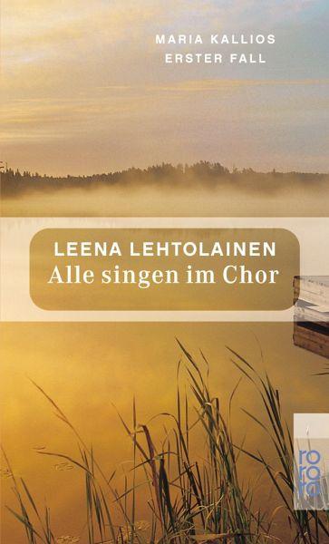 Buch-Reihe Maria Kallio von Leena Lehtolainen