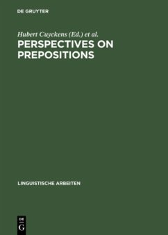 Perspectives on Prepositions
