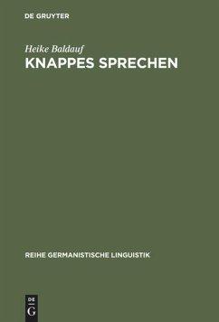 Knappes Sprechen