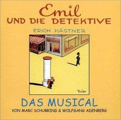 Emil und die Detektive, Das Musical, 1 Audio-CD