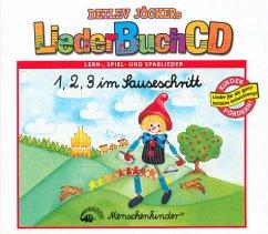 1, 2, 3 im Sauseschritt, m. Audio-CD