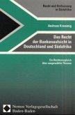 Das Recht der Bankenaufsicht in Deutschland und Südafrika