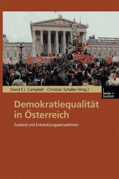 Demokratiequalität in Österreich
