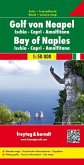 Freytag & Berndt Autokarte Golf von Neapel; Bay of Naples; Golfo di Napoli; Golfe de Naples; Golfo de Nápoles
