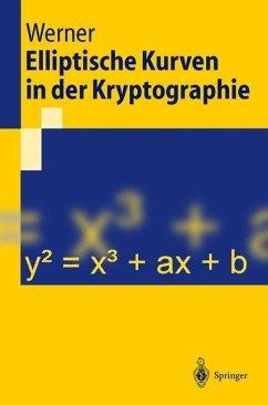 Elliptische Kurven in der Kryptographie - Werner, Annette