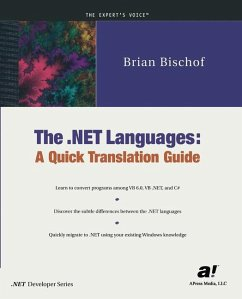 The .NET Languages - Bischof, Brian