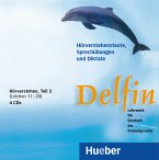 Hörverstehen, 4 Audio-CDs / Delfin Tl.2