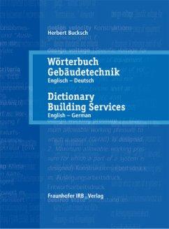 Wörterbuch Gebäudetechnik 1 Englisch - Deutsch