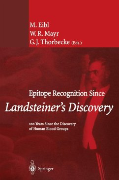 Epitope Recognition Since Landsteiner's Discovery - Eibl, Martha / Mayr, W.R. / Thorbecke, G.J. (eds.)