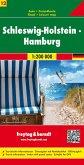 Freytag & Berndt Autokarte Schleswig-Holstein, Hamburg; Schleswig-Holstein, Hambourg; Schleswig-Holstein, Amburgo