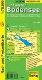 GeoMap Karte Rund um den Bodensee