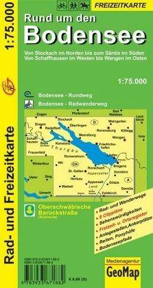 Bodensee Karte.Geomap Karte Rund Um Den Bodensee