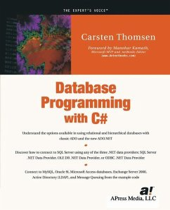 Database Programming with C# - Thomsen, Carsten