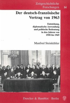 Der deutsch-französische Vertrag von 1963 - Steinkühler, Manfred