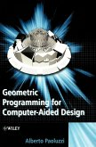 Geometric Prog for Computer-Aided Design