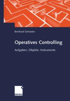 Operatives und wertmäßiges Controlling im Industrieunternehmen - Schroeter, Bernhard