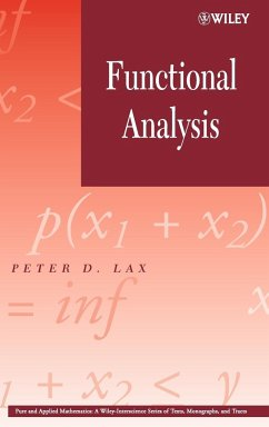 Functional Analysis - Lax, Peter D.
