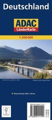 ADAC Karte Deutschland, Planokarte