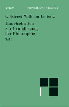 Hauptschriften zur Grundlegung der Philosophie 1