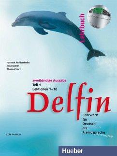 Delfin. Lehrbuch Teil 1. Mit 2 CDs - Aufderstraße, Hartmut; Müller, Jutta; Storz, Thomas