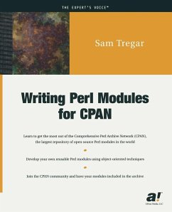 Writing Perl Modules for CPAN - Tregar, S.