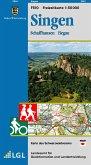 Topographische Freizeitkarte Baden-Württemberg Singen