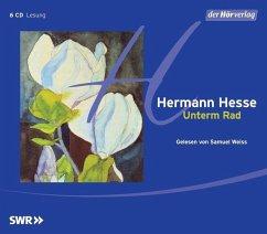 Unterm Rad, 6 Audio-CDs - Hesse, Hermann