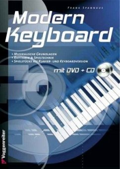 Modern Keyboard, m. Audio-CD u. DVD