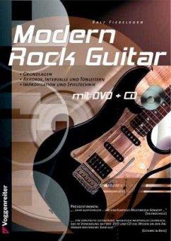 Modern Rock-Guitar, m. Audio-CD u. DVD