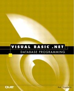 Visual Basic.Net Database Programming - Stephens, Rod