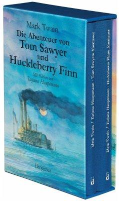 Die Abenteuer von Tom Sawyer und Huckleberry Finn - Twain, Mark