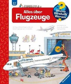 Alles über Flugzeuge / Wieso? Weshalb? Warum? Bd.20 - Metzger, Wolfgang; Erne, Andrea