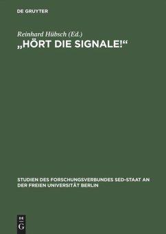 ' Hört die Signale!' - Hübsch, Reinhard (Hrsg.)